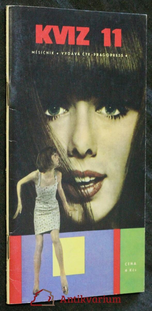 Kviz, ročník 2, sešit 11. 1968