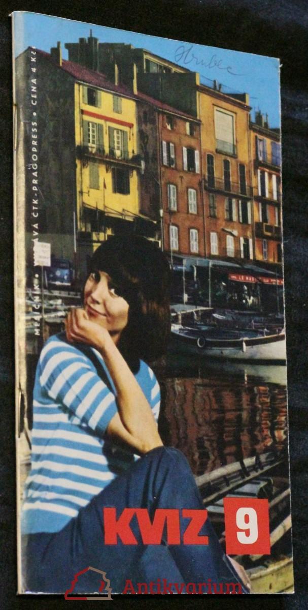 Kviz, ročník 2. sešit 9. 1968