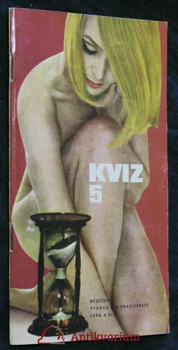 Kviz, ročník 2. sešit 5. 1968