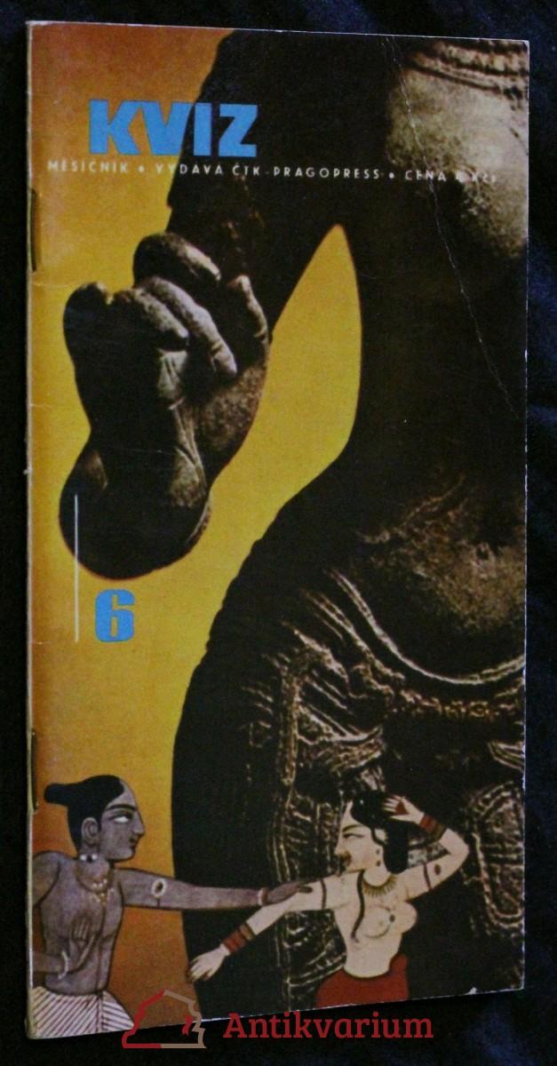 Kviz, ročník 2. sešit 6. 1968