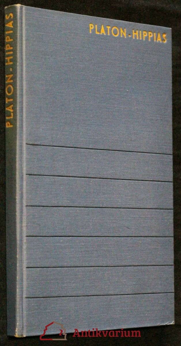 Hippias větší ; Hippias menší ; Ion ; Menexenos