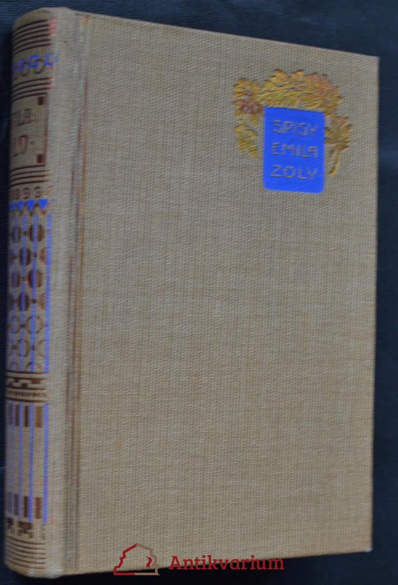 antikvární kniha Dílo, 1923