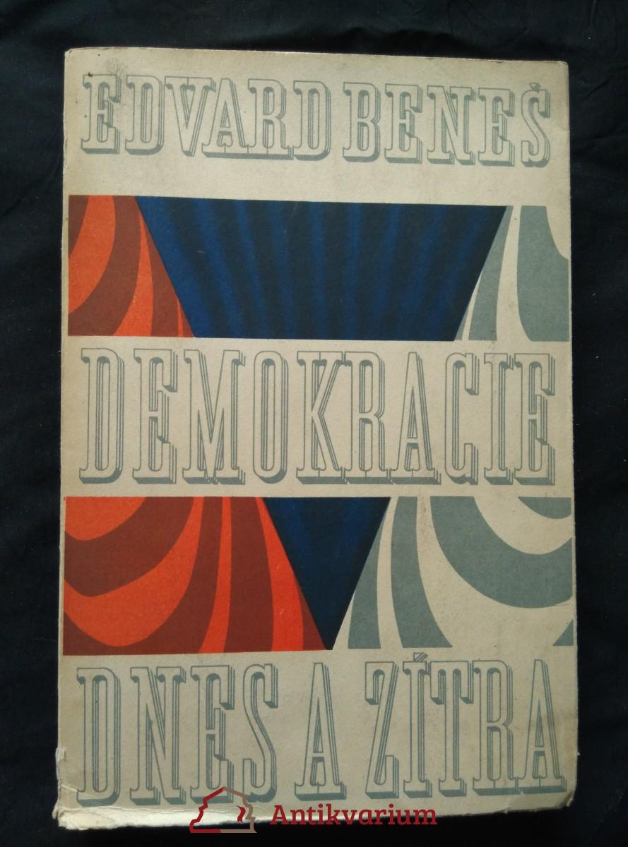 Demokracie dnes a zítra (Obr, 355 s.)