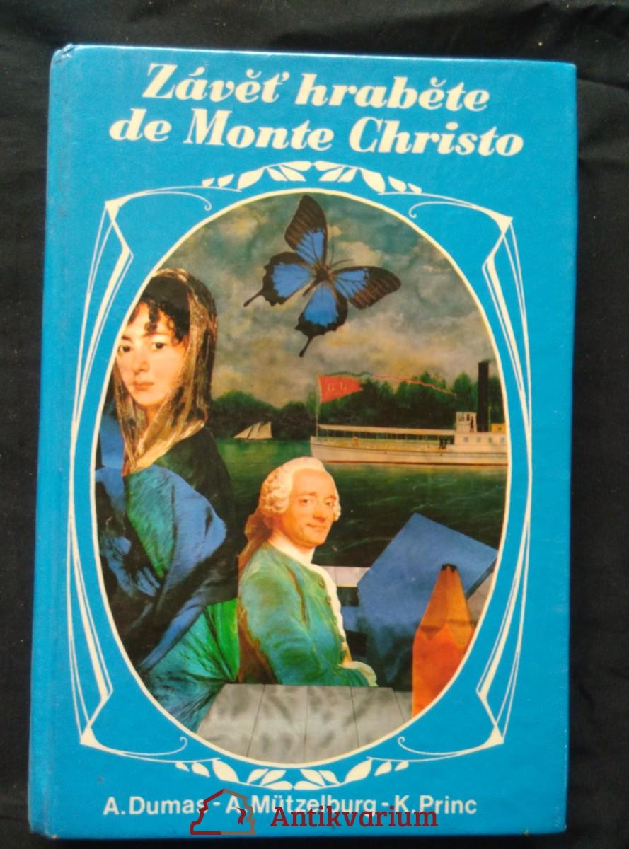 Závěť hraběte Monte Christo (lam, 256 s.)