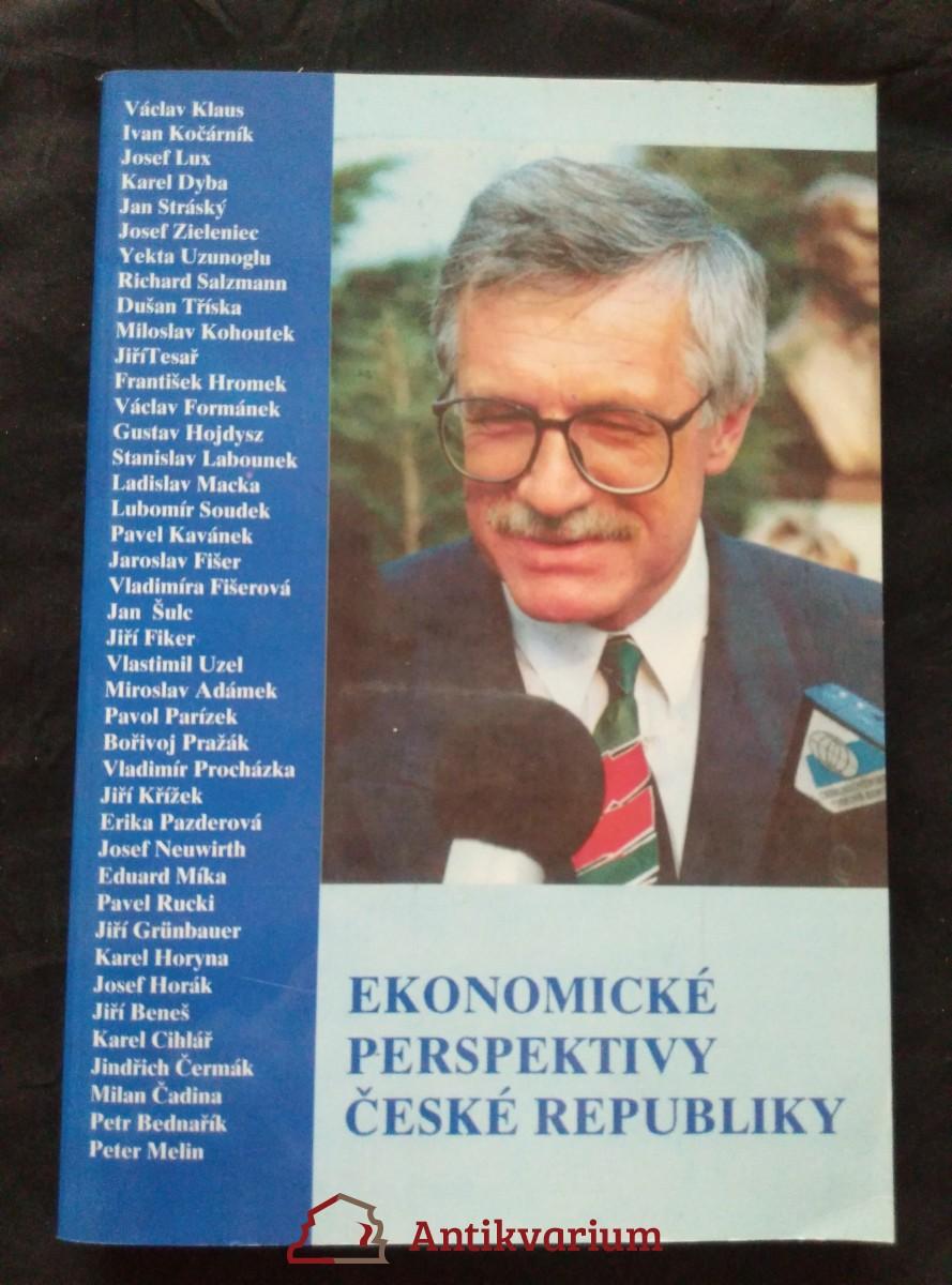 antikvární kniha Ekonomické perspektivy ČR, 1993