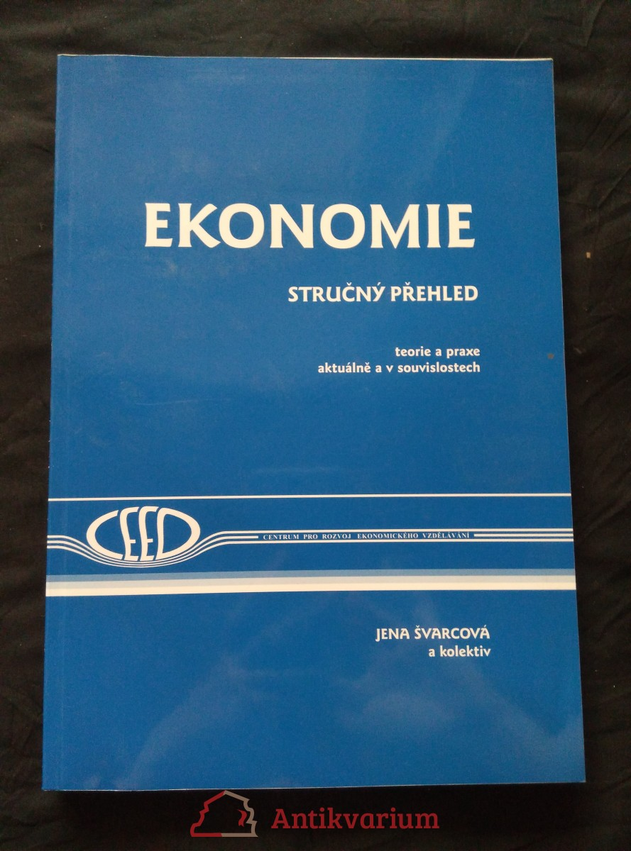 Ekonomie - stručný přehled - teorie a praxe aktuálně a v souvislostech (A4, Obr, 304 s.)