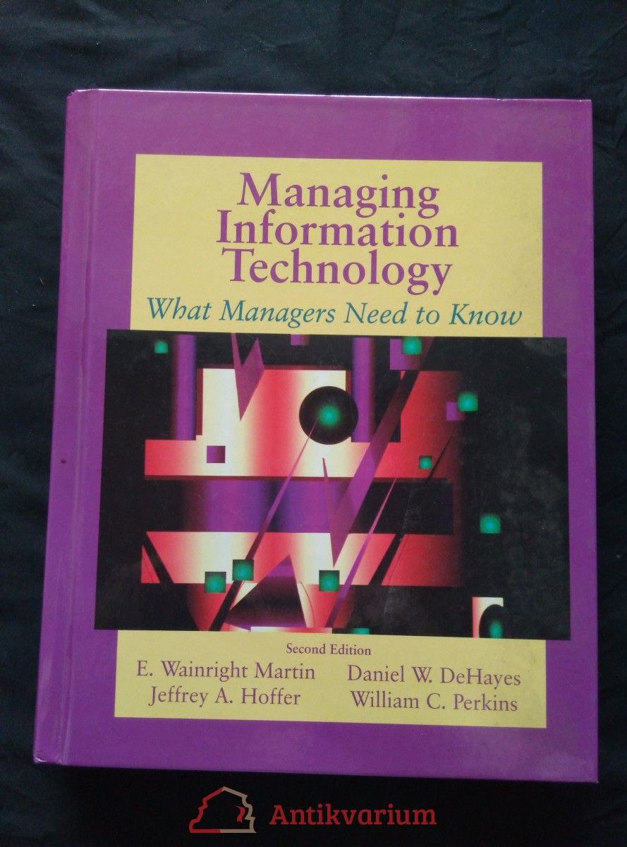 antikvární kniha Managing Information Technology, 1994