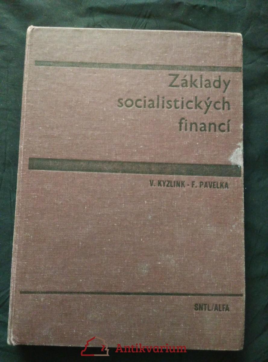 Základy socialistických financí
