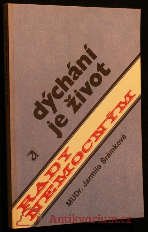 antikvární kniha Dýchání je život, 1989