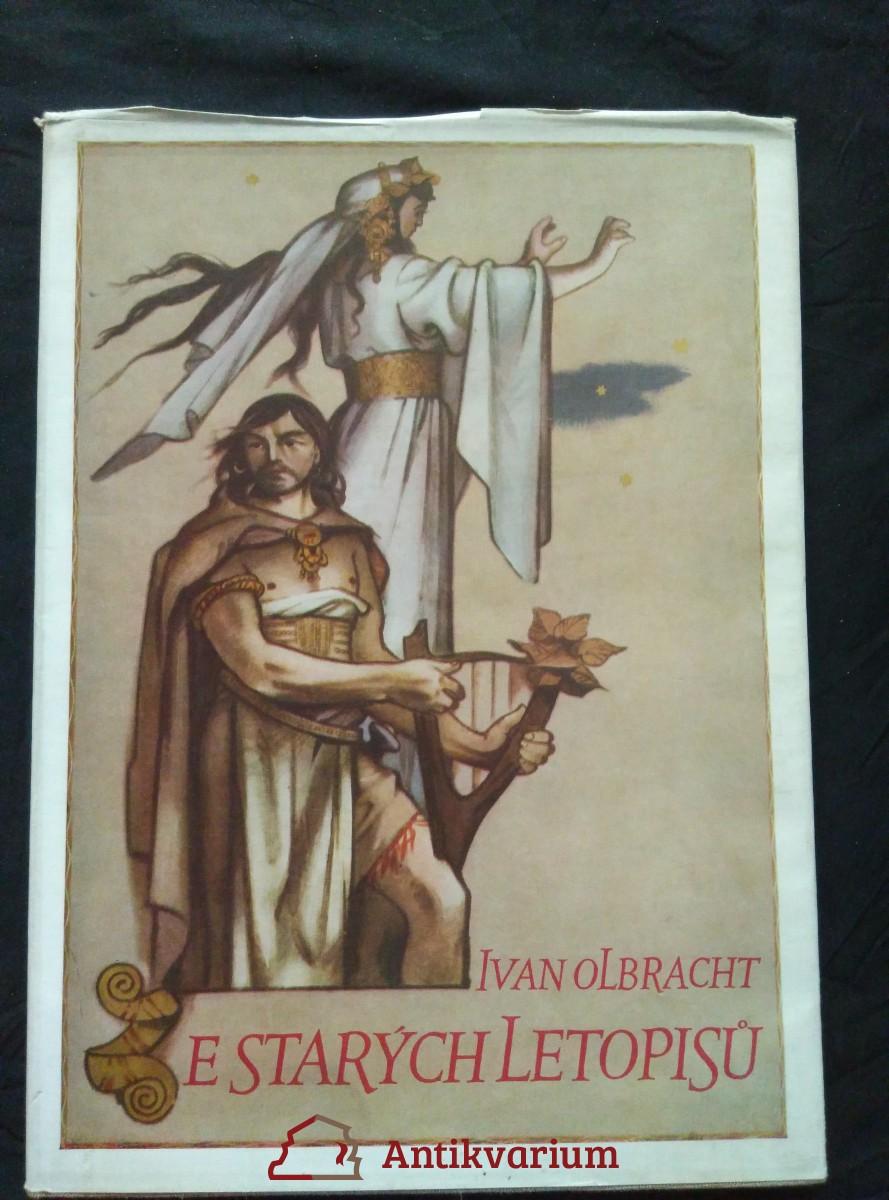 antikvární kniha Ze starých letopisů (A4, Ocpl, 98 s., il. A. Zábranský, typo M. Hegar), 1957