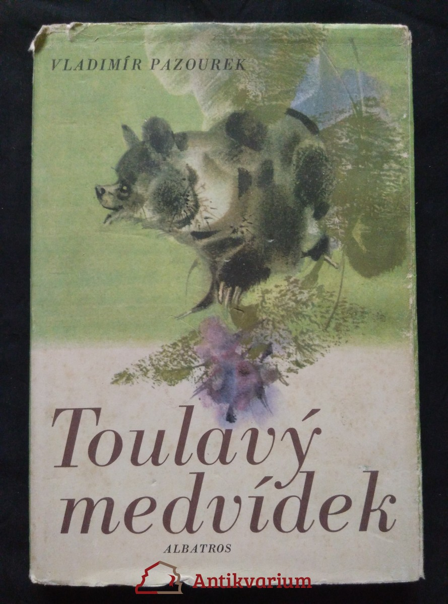 Toulavý medvídek (Ocpl, 102 s., ob a il. J. Krásl)
