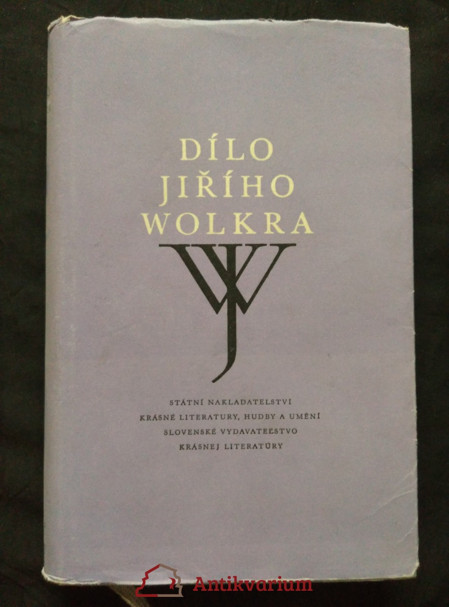 Dílo Jiřího Wolkra (Ocpl, 543 s.)
