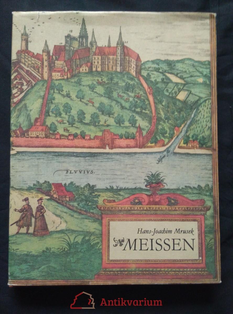 antikvární kniha Meissen, 1982