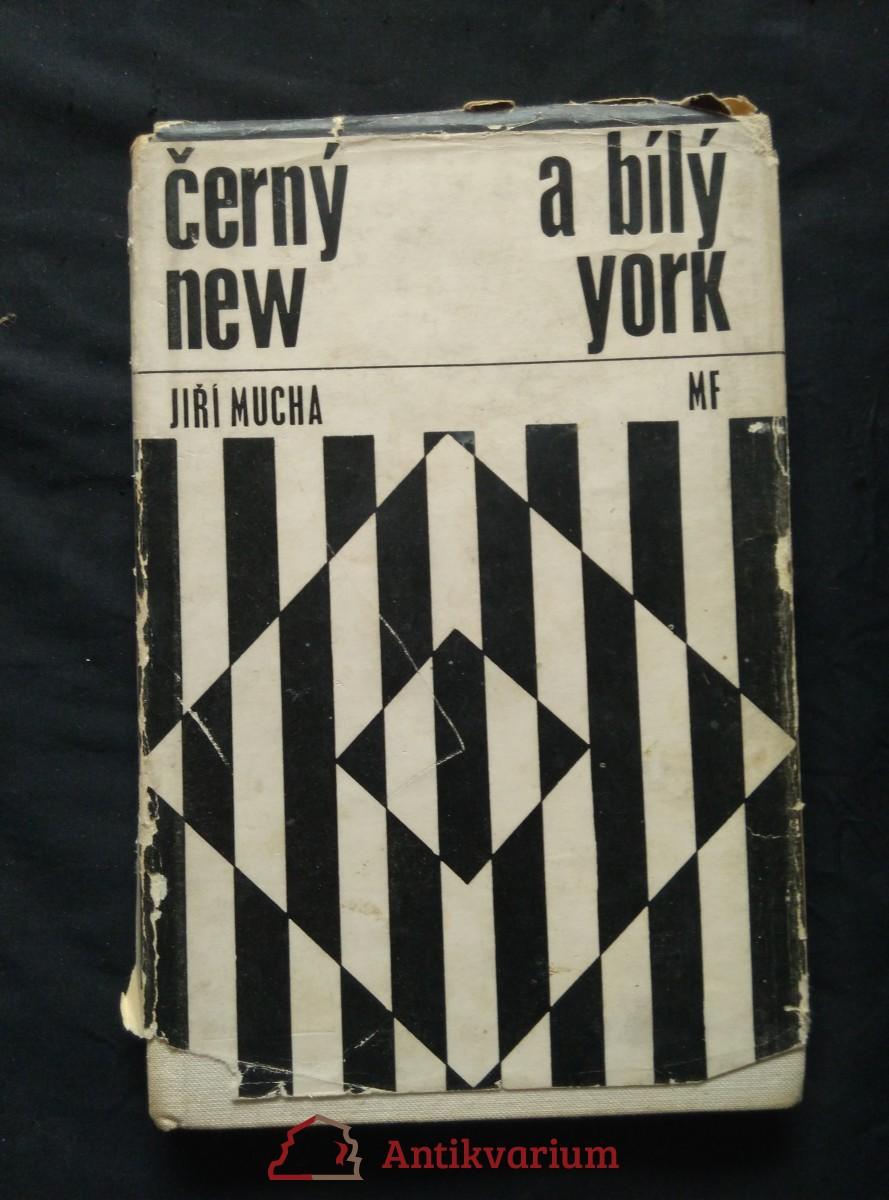 Černý a bílý New York (Ocpl, 116 s., 16 s čb příl.)