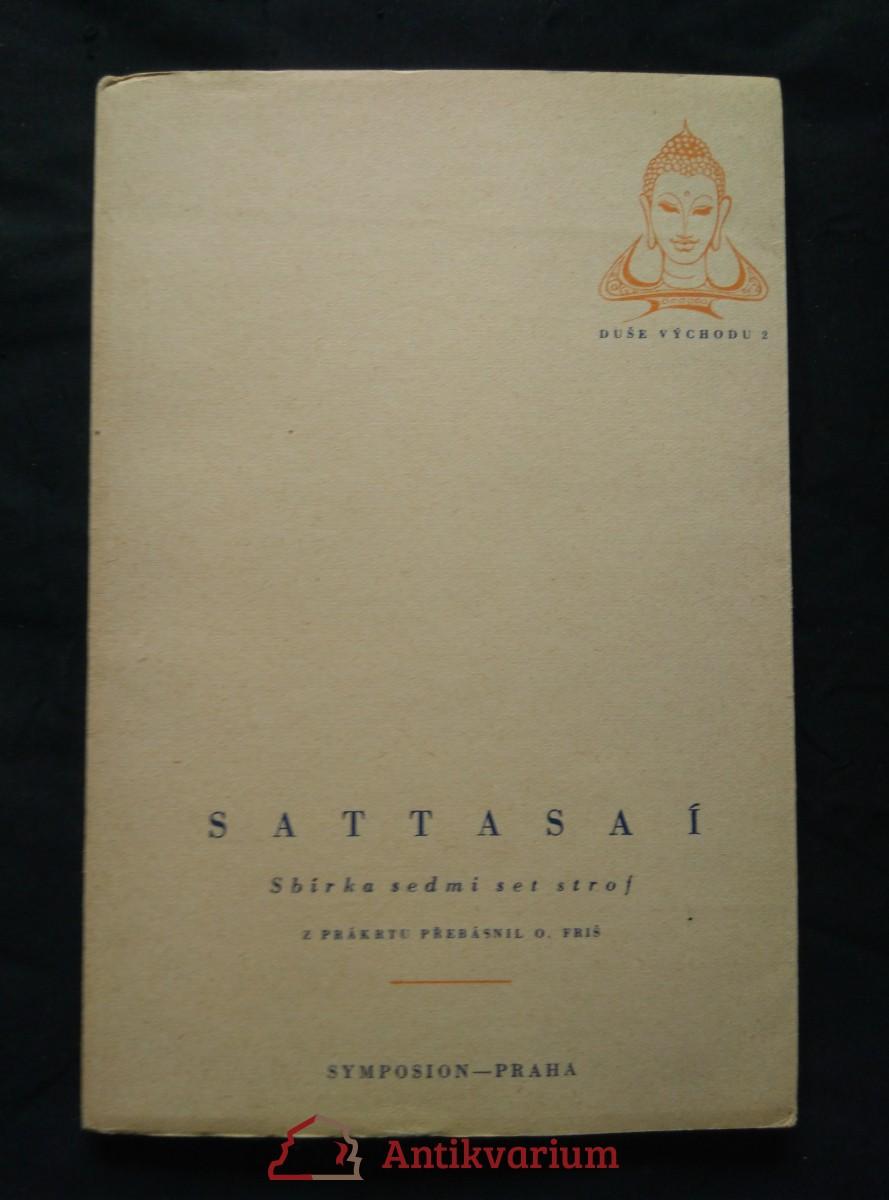 Sattasaí - Sbírka semdi set strof (Obr, 72 s.)