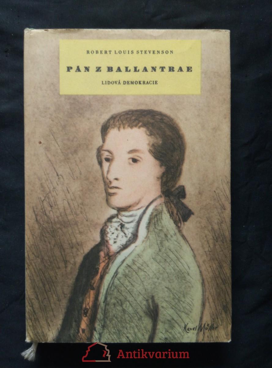 Pán z Ballantrae (Ocpl, 236 s., il. K. Müller)