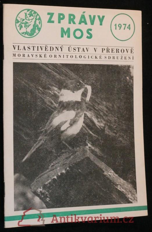 antikvární kniha Zprávy MOS, 1974