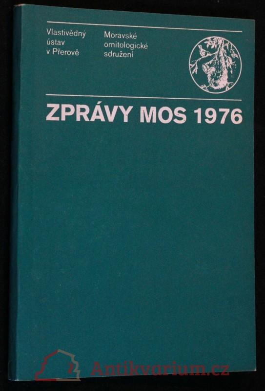 antikvární kniha Zprávy MOS 1976, 1977