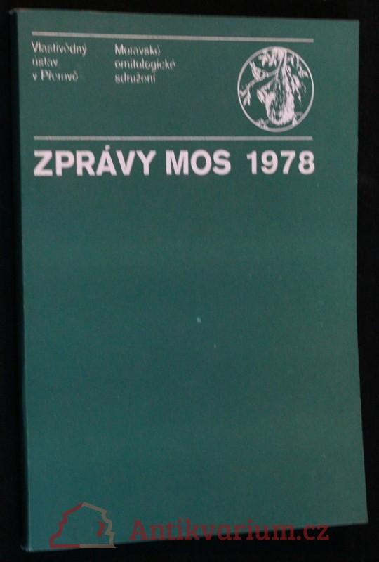 antikvární kniha Zprávy MOS 1978, 1979