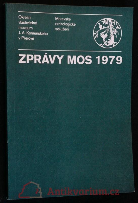 antikvární kniha Zprávy MOS 1979, 1980