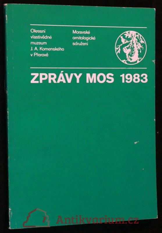antikvární kniha Zprávy MOS 1983, 1983