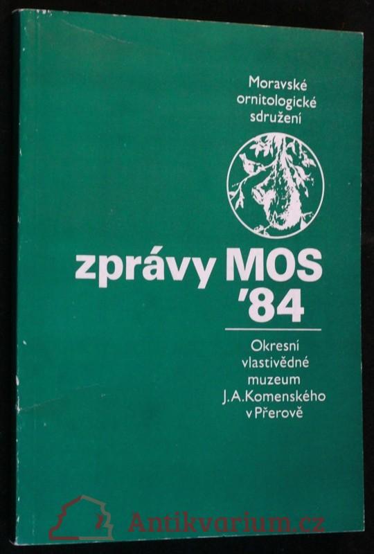 antikvární kniha Zprávy MOS 1984, 1984
