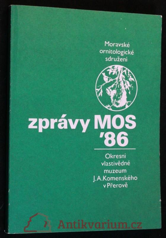 antikvární kniha Zprávy MOS 1986, 1986