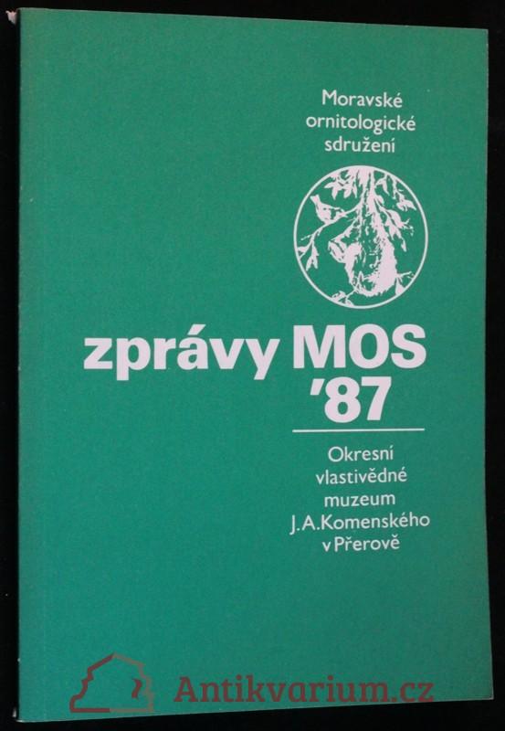 antikvární kniha Zprávy MOS 1987, 1987