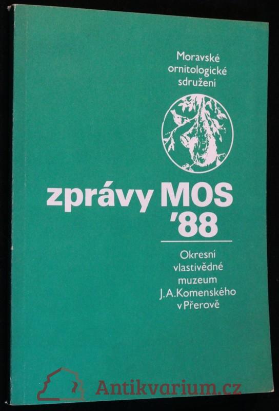 antikvární kniha Zprávy MOS 1988, 1988