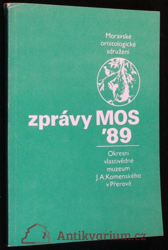 antikvární kniha Zprávy MOS 1989, 1989