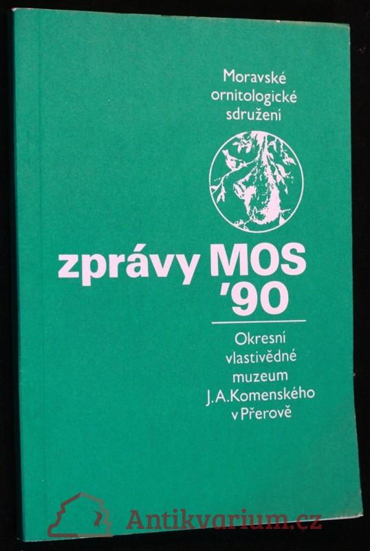 antikvární kniha Zprávy MOS 1990, 1990