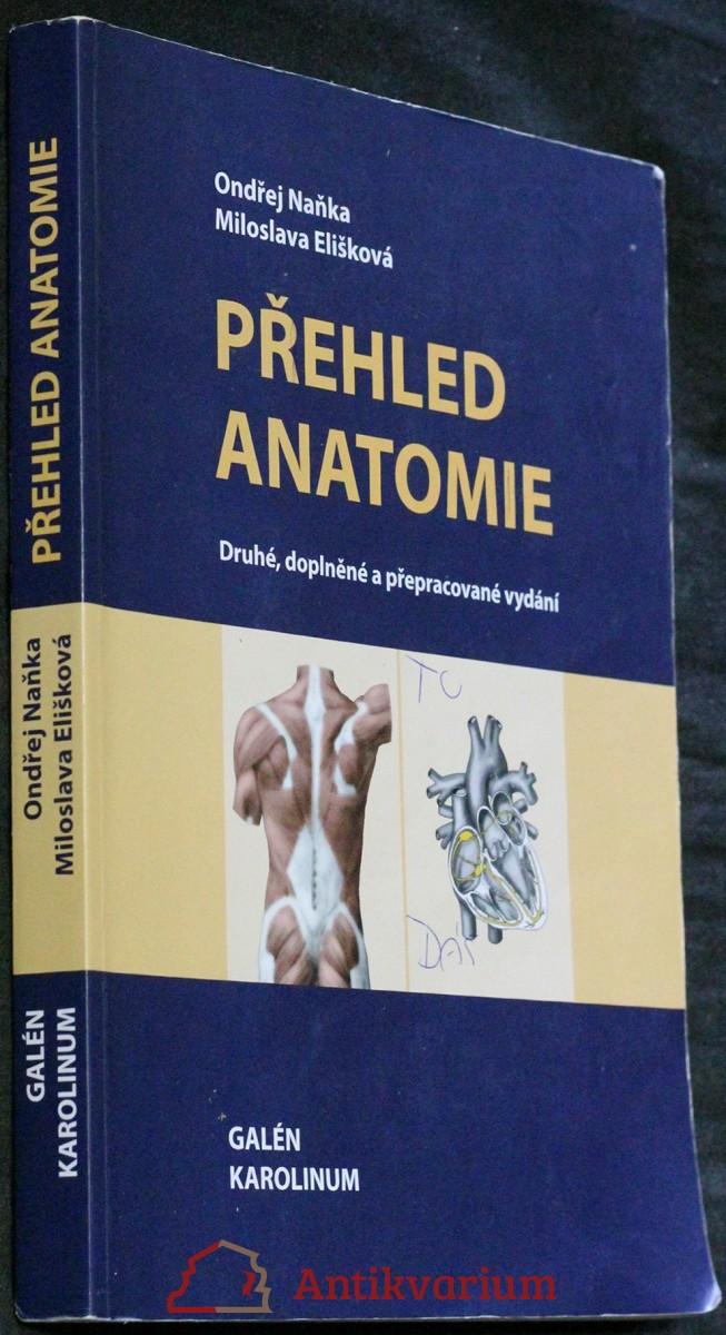 antikvární kniha Přehled anatomie, neuveden