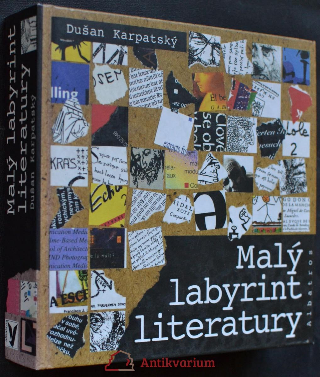 antikvární kniha Malý labyrint literatury, neuveden