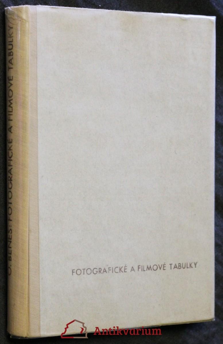 Fotografické a filmové tabulky