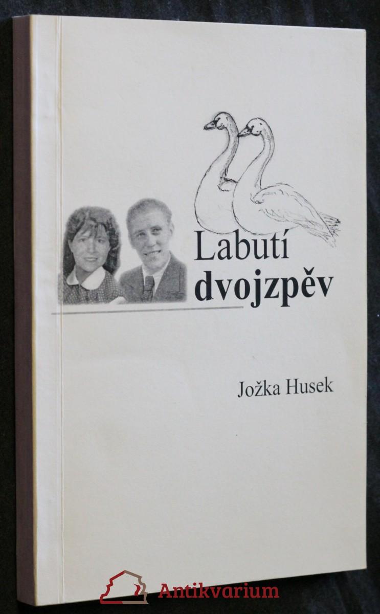 antikvární kniha Labutí dvojzpěv , 2010