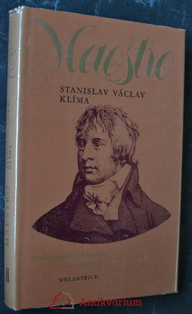 Maestro : Román o českém skladateli Janu Ladislavu Dusíkovi