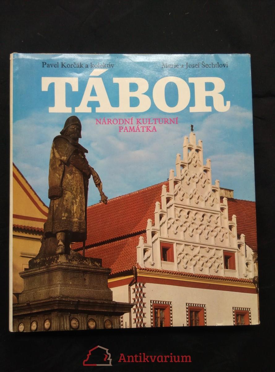 Tábor - národní kulturní památka ( A4, Ocpl., 192 s., čb a bar foto)