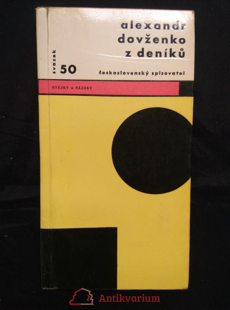 Z deníků (Obr, 136 s., il. autor  a A. Hoffmeister, ob a typo Z. Seydl)