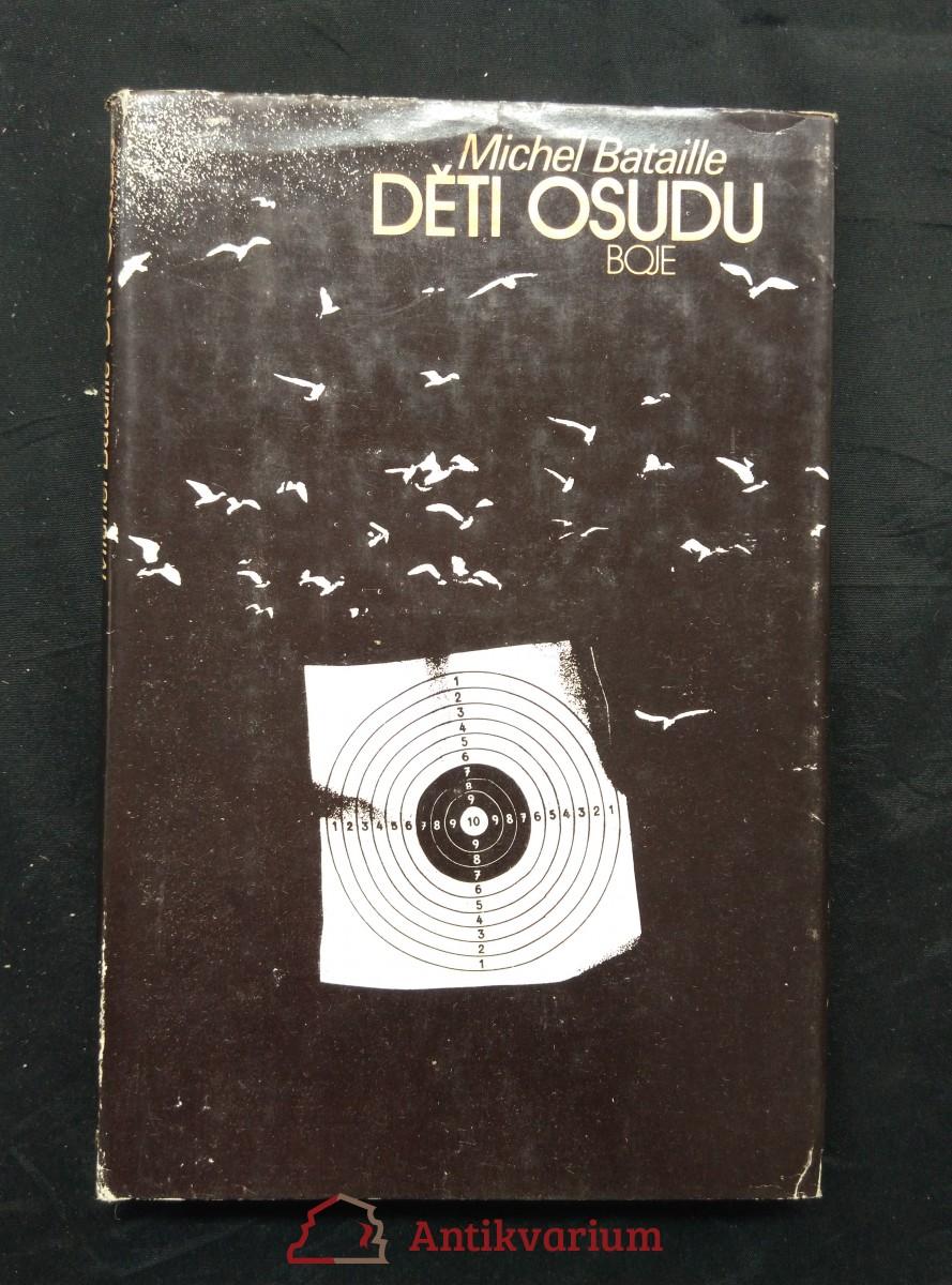 antikvární kniha Děti osudu (ob. + il. B. Hořínek), 1986