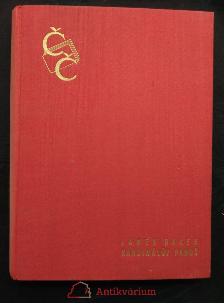 Kardinálův panoš - z doby husitské (Ocpl, 280 s.)