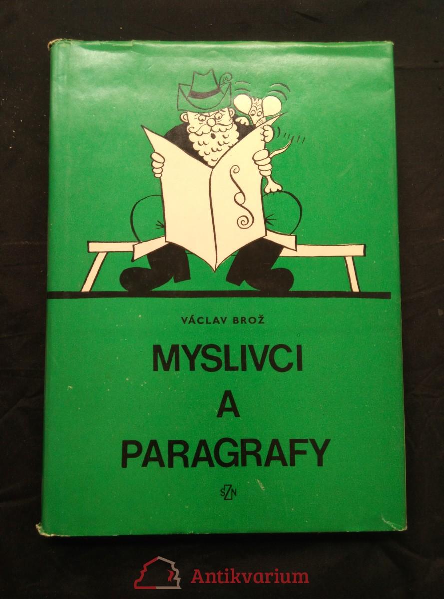 antikvární kniha Myslivci a paragrafy, 1975