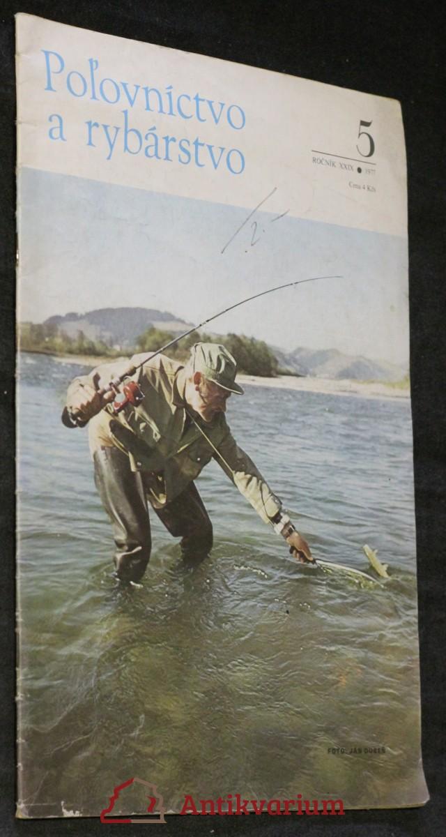Poľovníctvo a rybárstvo, ročník XXIX. č. 5