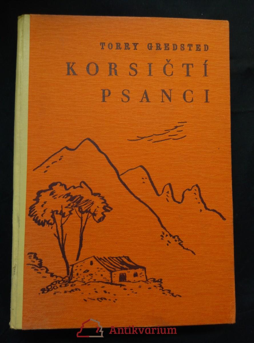 antikvární kniha Korsičtí psanci (Oppl, 346 s., il. F. Stejskal, b ob.), 1941