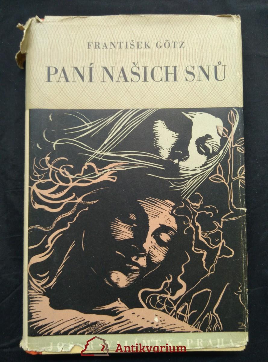 antikvární kniha Paní našich snů (Oppl), 1942