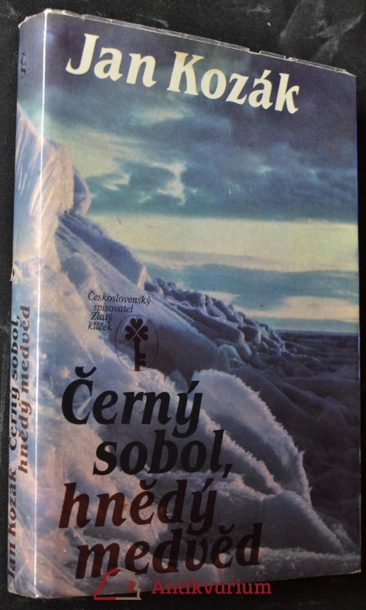 Černý sobol, hnědý medvěd : příběh z bajkalské tajgy