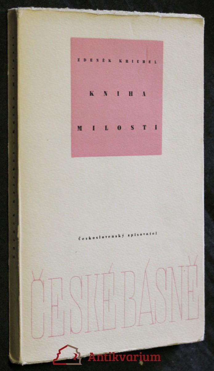 Kniha milosti : Verše 1950-1955