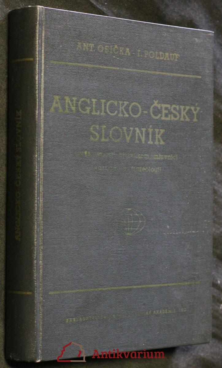 Anglicko-český slovník s výslovností, přízvukem, mluvnicí, vazbami a frazeologií