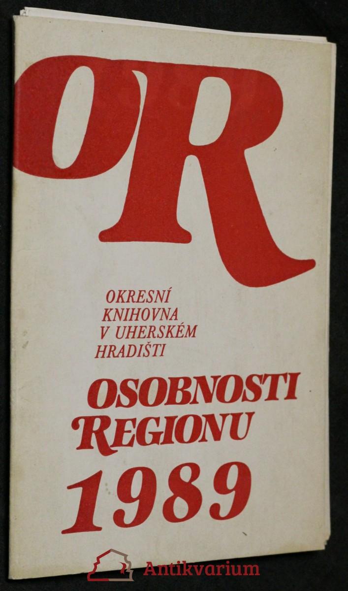 antikvární kniha Osobnosti regionu 1989, neuveden