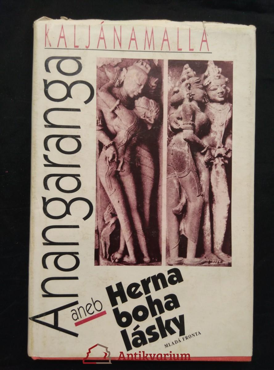 Anangaranga aneb Herna boha lásky (Ocpl, 112 s., il. B. Vašák)