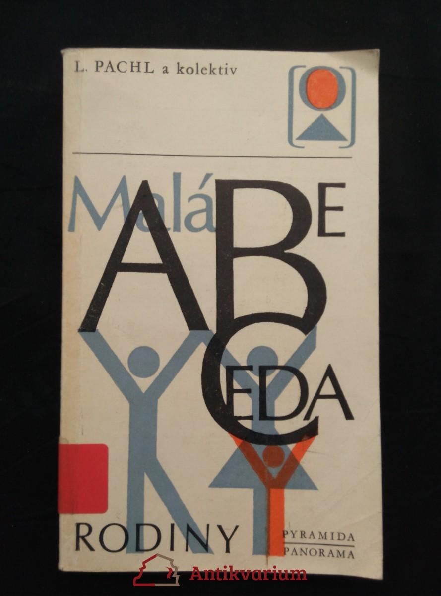 antikvární kniha Malá abeceda rodiny (Obr, 316 s.), 1983